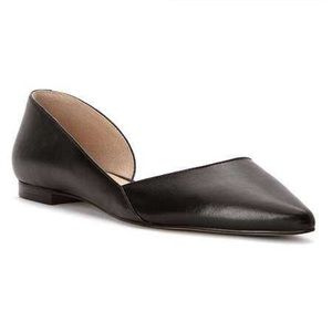 Marc Fisher Shoes - MARC FISHER Black Anny pointed toe Flat